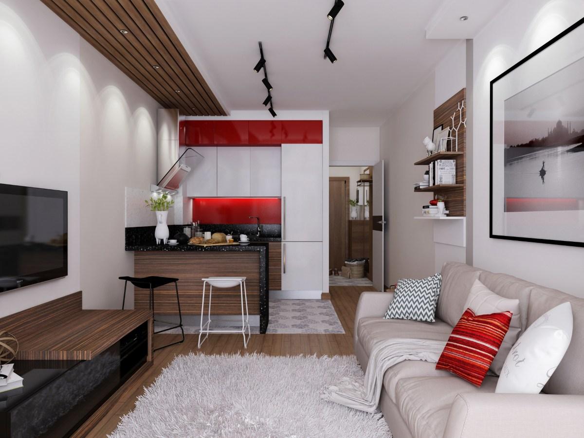 Дизайн студии 15 квм